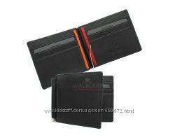 Кожаный зажим для денег Visconti BD-18 - Auric blackorange
