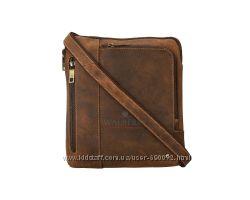 Мужская кожаная сумка Visconti 15056 M - Roy oil tan