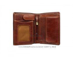 Мужской кожаный кошелек Visconti TSC-44 - Lucca Tan