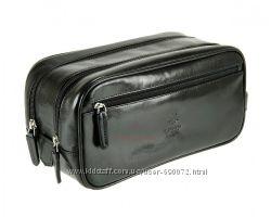 Мужской кожаный несессер Visconti MZ-100 - Naples Black