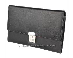 Дорожное кожаное портмоне 1642 - 2301L21 - Harness Black