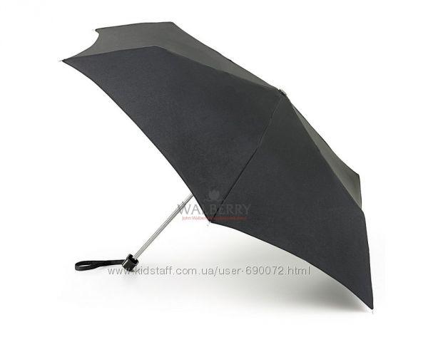 Зонт унисекс Fulton Ultralite-1 - L349 - Black Черный