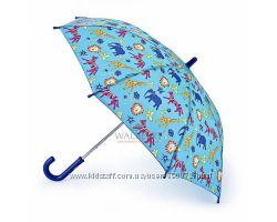 Детский зонт-трость Fulton Junior-4 C724 - Jungle Chnms Джунгли