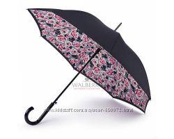 Женский зонт-трость Fulton Bloomsbury-2 L754 - Painted Roses - Рисованные