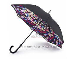 Женский зонт-трость Fulton Bloomsbury-2 L754 - Digital Lights - Цифровые о