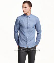 Стильная рубашка H&M Regular Fit