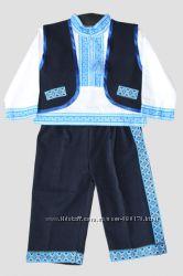 Украинские национальные костюмы для мальчиков 3-ка р. 80-104