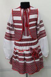 Украинские костюмы  и платья р. 98-152 много моделей