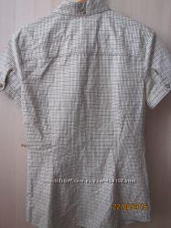 Рубашка в клетку Mango  размер S-М