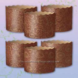Пергаментные формы для выпечки пасок, куличей Пасха 2016