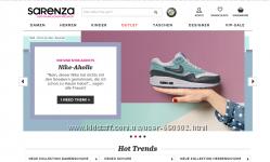 Sarenza. Обувь и аксессуары. Выкуп и доставка из Германии.