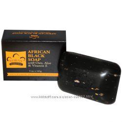 Черное африканское мыло iHerb в наличии