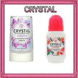 Дезодоранты Crystal  с сайта iHerb в наличии 4 вида