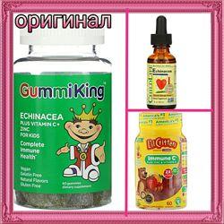 Эхинацея с витамином С для детей iHerb в наличии 3 вида
