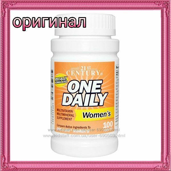 21st Century, One Daily  витамины 100 шт. iHerb  в наличии