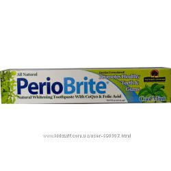 Природная зубная паста, Прохладная мята iHerb в наличии