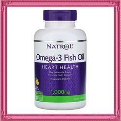 Акция  Омега-3, со вкусом лимона, 1000 мг, 150 капсул iHerb