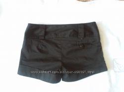 Продам класичні чорні шорти xs