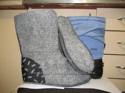 Брендовые сноубутсы Sorel Канада оригинал р. 5, стелька 24. 5 см.