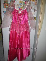 Брендовое карнавальное платье Авроры Disney оригинал 3-6 лет , 110-122 см.
