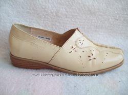 Туфли Кожа Brevitt, бу 1 раз, стелька 24, 7 см