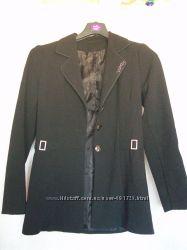 Костюм тройка пиджак юбка брюки, размер 42