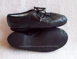 Туфли танцевальные джазовки, стелька 16, 5 см.