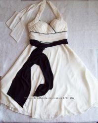 Платье слоновой кости бу 1 раз, размер М