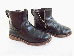 Ботинки деми кожа Timberland, стелька 20,5 см.