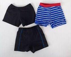 Плавки шорты купальные, на 1-3 года.