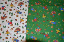 Новогодние ткани для рекоделия, печворка