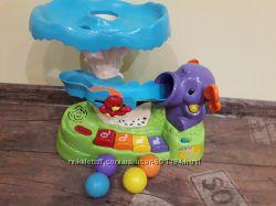 Vtech развивающая игрушка музыкальный слон фонтан counting fun elephant