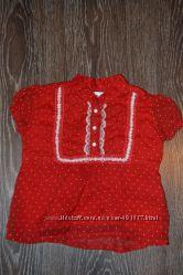 Блузочка-футболочка для модницы 12-24 мес