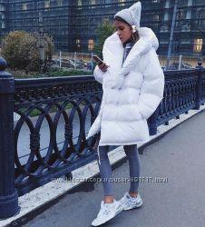 Зимняя куртка черный , белый серый розовый