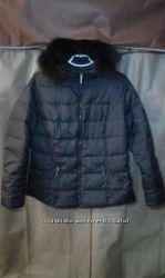 Куртка короткая на тонком пуху, р. 50