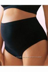 Бесшовные трусики-шорты для беременных высокие, Hema. размер М