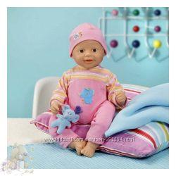 Кукла, пупс, Zapf creation Chou Chou. Смеющийся малыш-Оригинал