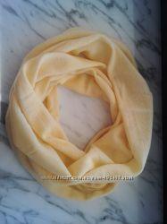Нежный женский снуд круговой шарфик