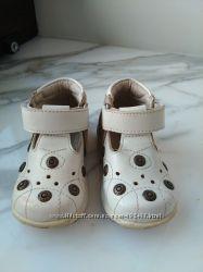 Туфельки кожаные на малыша