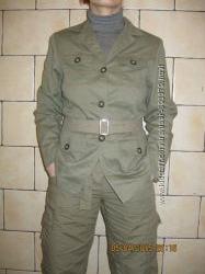 Пиджак женский милитари