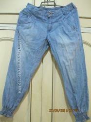 Брючки классные джинс на девочку лето 152 см