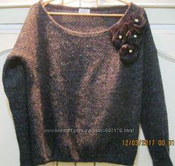 Стильный свитерок женский free size 44-46