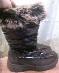 Cапоги девичьи зима 29 размер