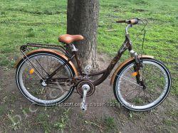 Велосипед Ardis Messina 26 городской алюминиевый с тремя скоростями и пода