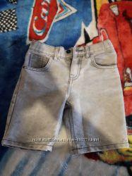 Джинсовые шорты , бриджи  f&f 7-8
