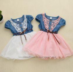 Нарядные платья для девочек от 1 месяца до 11 лет.