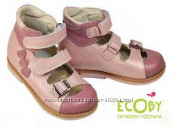 Открытые туфли-сандалии детские ортопеды