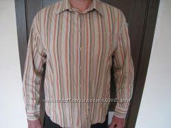 фирменная S. OliverЭс Оливер рубашка мужская 52-54 р-р