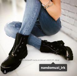 Nando Muzi крутые ботинки 38р осень