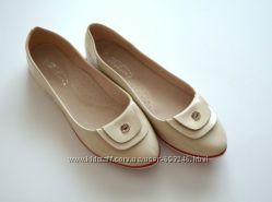 Балетки туфли последняя пара 24, 5см стелька